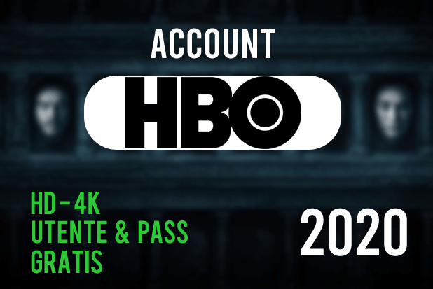 hbo gratis account 2020