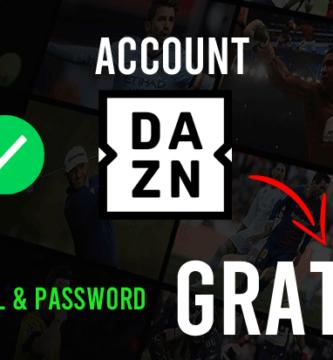account dazn gratis
