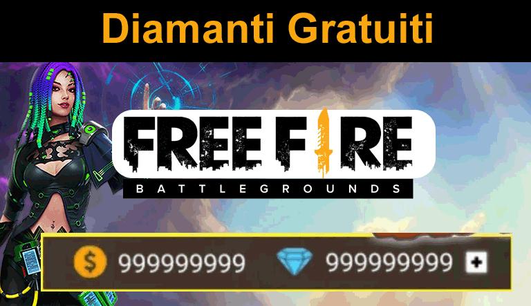 diamanti gratuiti free fire generatore