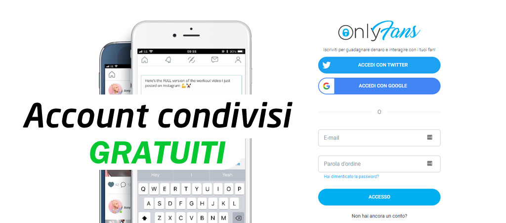 onlyfans account condivisi